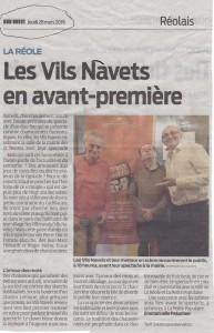 SUD-OUEST-VILS NAVETS-LA REOLE-GENERALE